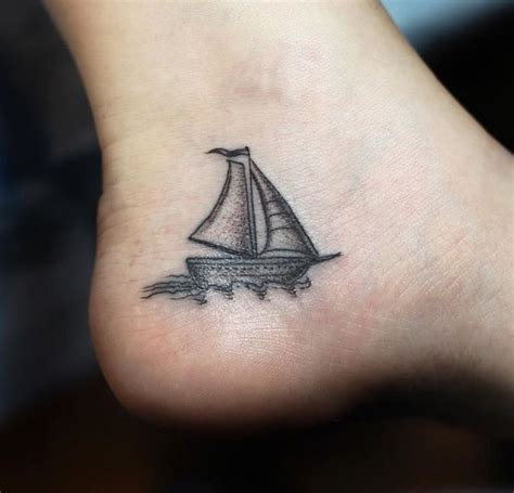 small ship tattoo designs best 25 nautical tattoos ideas on nautical