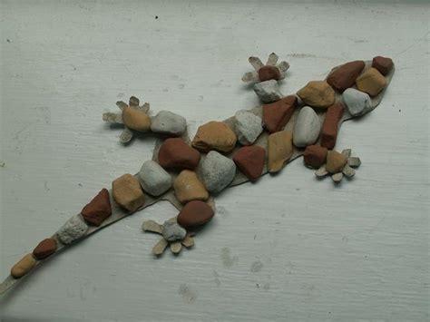 lizard made out of make a cardboard rock lizard 1
