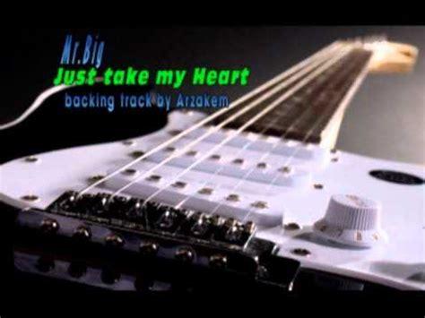 tattooed heart backing track backing track just take my heart mr big youtube