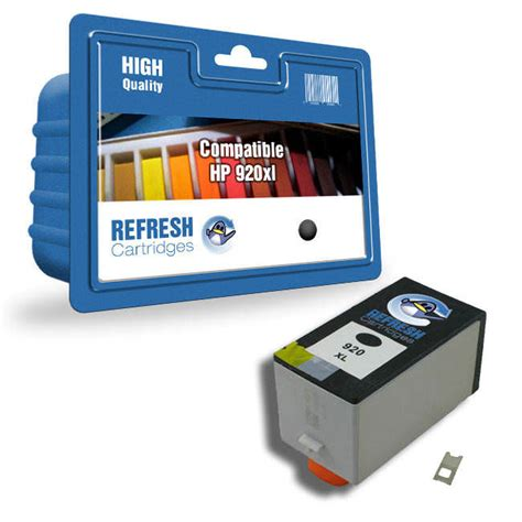 Cartridge Hp 920 Black Original Berkualitas hp cd971ae 920xl compatible ink cartridge without chip
