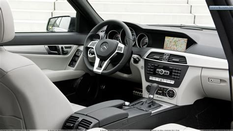 mercedes c class dashboard dashboard of mercedes benz c class wallpaper