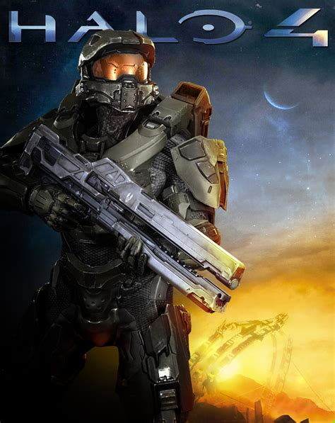 halo 4 nostalgia poster by wyvernzu on deviantart