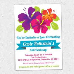 best 25 luau birthday invitations ideas on