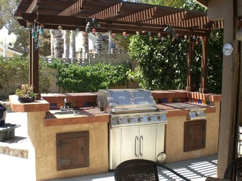 Backyard Bbq Kits Kitchen Extraordinary Outdoor Kitchen Design Pictures