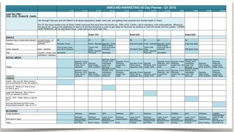 digital marketing calendar template doc 1185465 sle marketing calendar you need this
