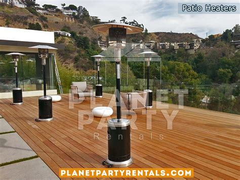 backyard rentals for parties patio heaters for rent heater includes propane gas
