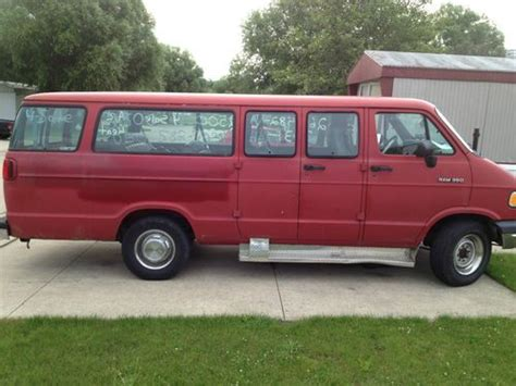 1994 dodge b350 purchase used 1994 dodge b350 in kendallville indiana