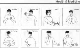 Printable sign language words related pictures basic sign language