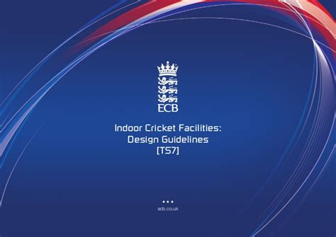 design guidelines for educational facilities ts7 indoor cricket facilities design guidelines