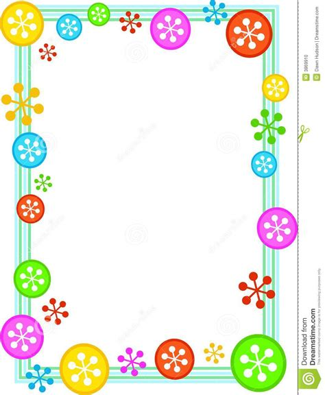 printable frames for children s work page border google search page borders pinterest