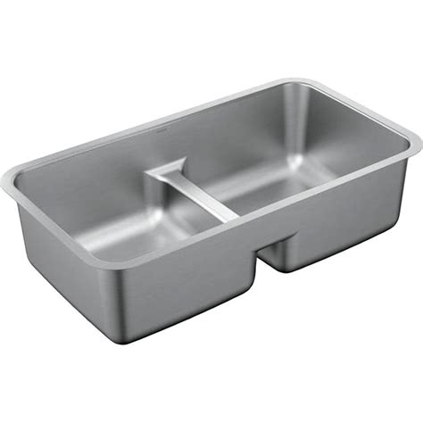 moen kitchen sinks undermount moen g18252 stainless bowl undermount sink