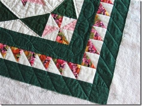 Sawtooth Quilt Border by Sawtooth Border Quilting Quilts