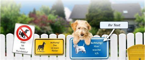 warnschild hund oder hunde verbotsschilder  gestalten