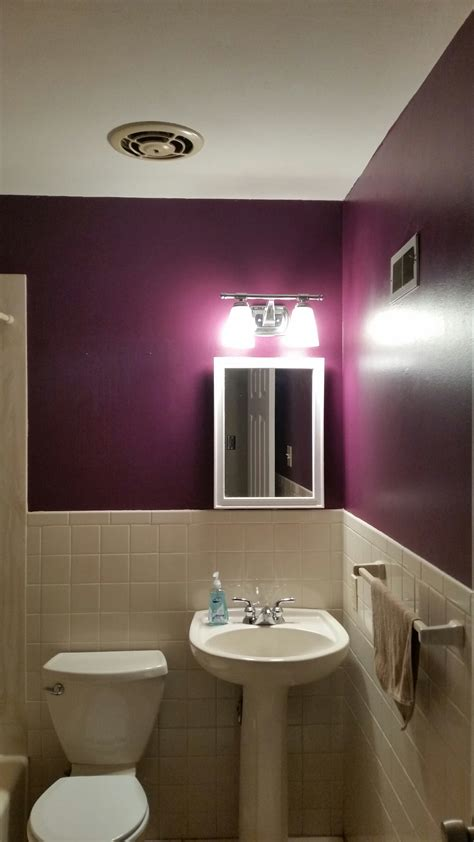 plum colored bathrooms stuck in his thumb and pulled out a plum bathroom a