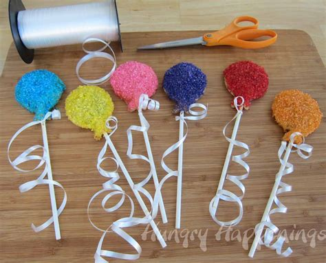 home made birthday decorations birthday balloon pastry pops hungry happenings