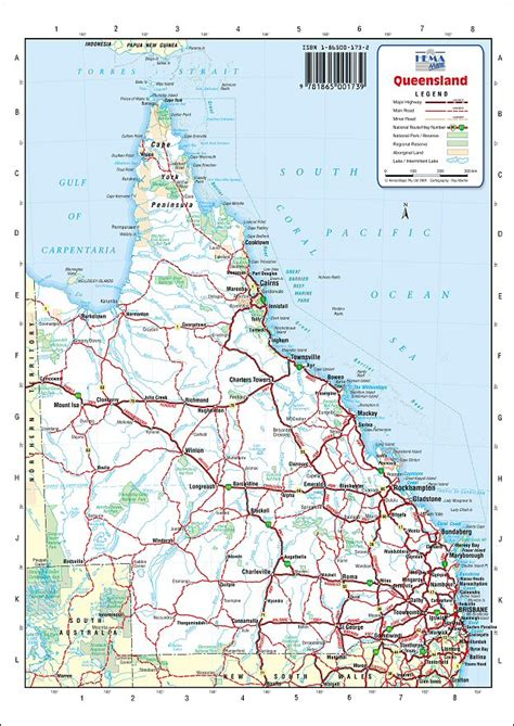 printable road maps australia australia road maps queensland