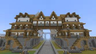 House Builder Design Guide Minecraft by Minecraft Medieval Huge Building Home Tutorial Part
