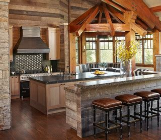 kitchen rustic kitchen other metro by peace design renovated mountain retreat rustic kitchen other
