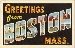 greetings from boston boston