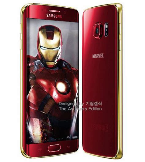 samsung s6 edge marvel themes samsung to release galaxy s6 iron man edition in avengers