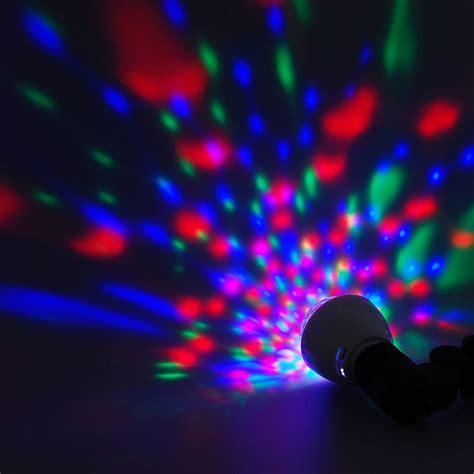 multi color strobe light multi color disco rotating l strobe led