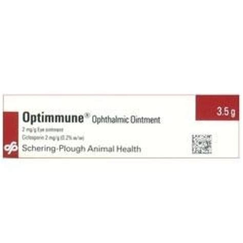 Optimmune Eye Ointment For Dogs Chemist Direct
