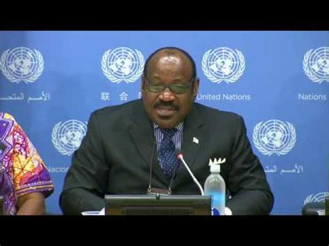 Anatolio Ndong Mba United Nations by Comments By Mr Anatolio Ndong Mba Equatorial Guinea