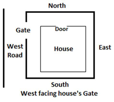 West Facing Door House by Vastu Maps