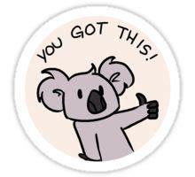 Sticker Kompor 2 Tungku 3 motivational koala sticker stickers