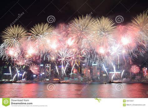 new year date hong kong hong kong new year fireworks display 2016