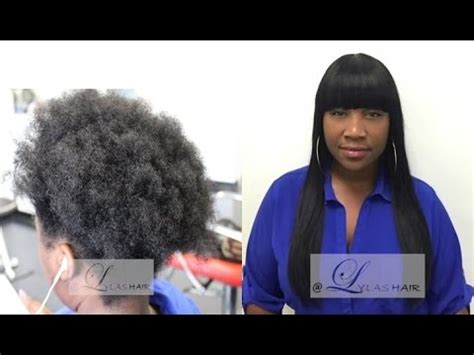 hair enclosures how to bang cut sew in enclosure hair extensions weave