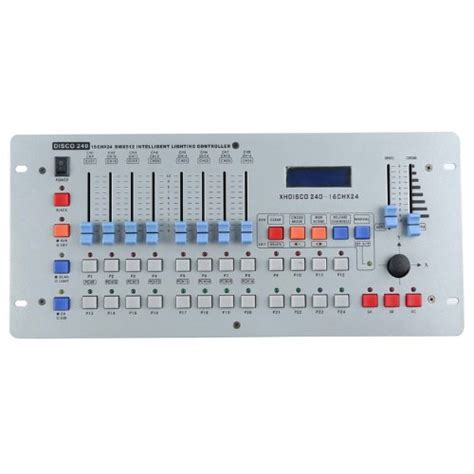 led light controller 240 channel dmx512 international dj lighting disco lighting controller console for led stage