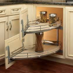 Corner Kitchen Cabinet Shelf Rev A Shelf The Curve Quot Luxury Kitchen Blind Corner Unit With Free Shipping Kitchensource