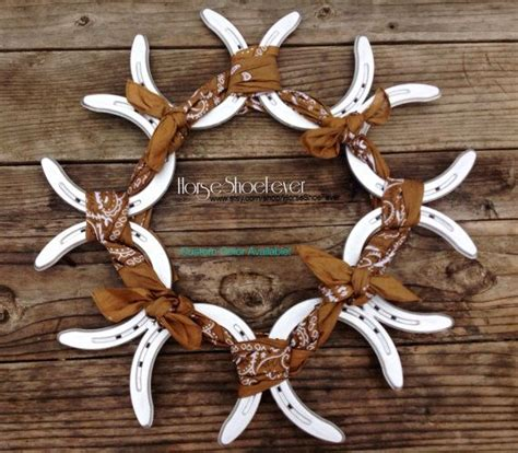 horseshoe decorations for home horseshoe home decor fall