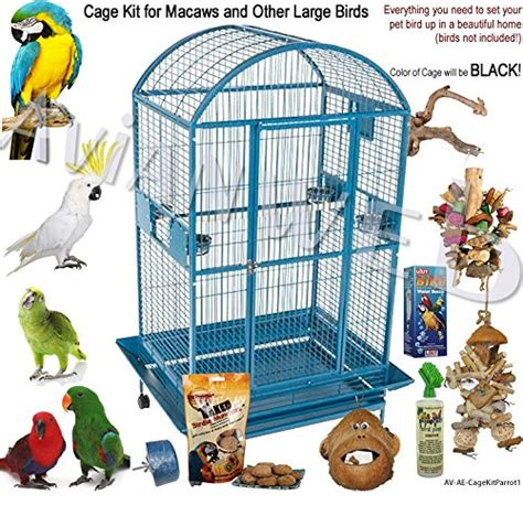 bird cage accessory kits complete set up for your new