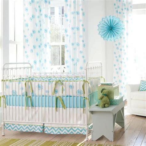 Turquoise Crib Bedding Aqua Dandelion Crib Bedding Collection Contemporary Bedroom Atlanta By Carousel Designs