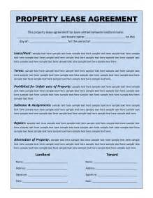 Free Lease Agreement Template Word Free Rental Agreement Template Lisamaurodesign