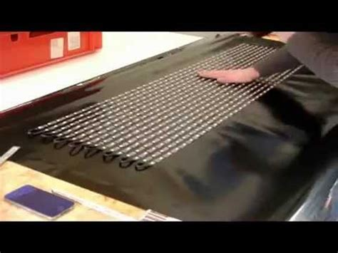 diy led video curtain how to build a flexible led curtain display by led strips