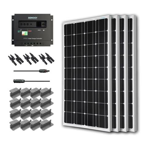 living on one solar panel best solar panels for homes yards and rvs ecokarma