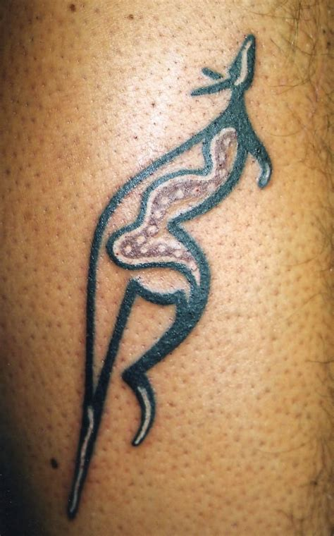 australian aboriginal tattoo designs 16 aboriginal kangaroo tattoos