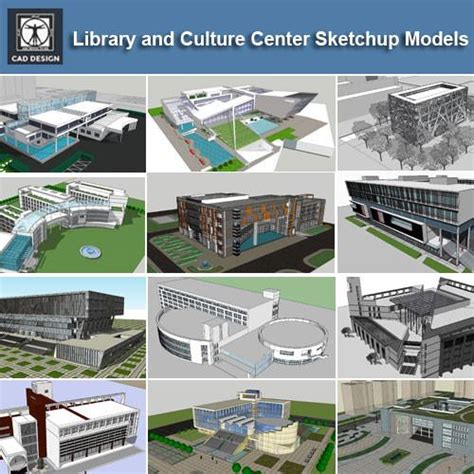 layout sketchup exle project download 15 library sketchup 3d models cad design