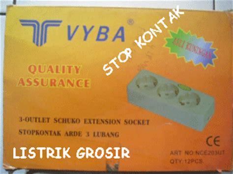 Stop Kontak T Steker Arde Yadi bukan grosir listrik alat listrik saklar listrik switch lu