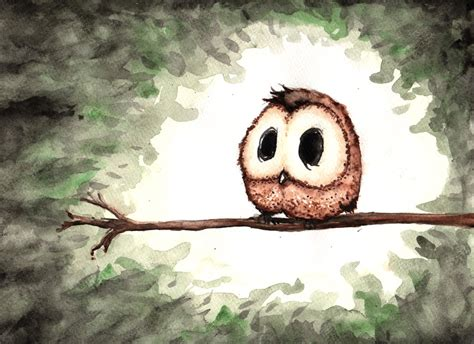Barn Owl Hoot Dear Little Owl By Blackindy On Deviantart