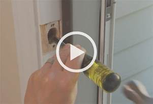 How To Install A Lock On A Door by Installing A Door Lock At The Home Depot