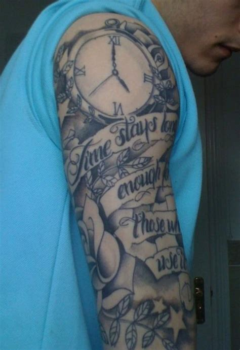 half arm tattoos for men half sleeve images designs