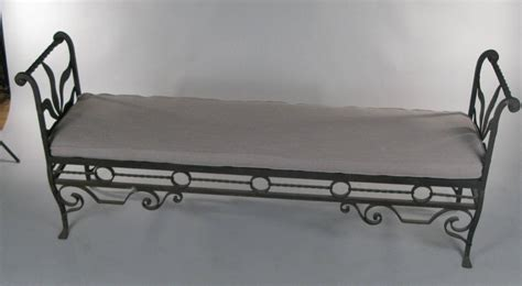 vintage wrought iron bench antique 1920s wrought iron bench at 1stdibs