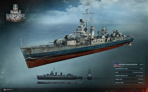 world  warships usa destroyers tech tree mmowgnet