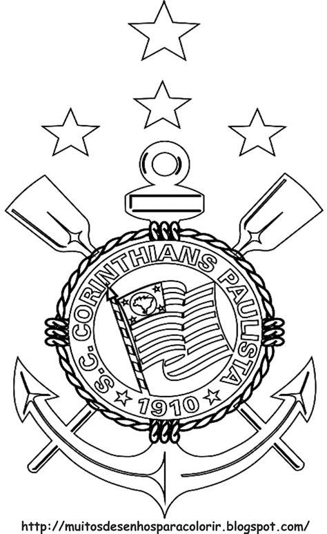 Desenhos para Colorir: Corinthians