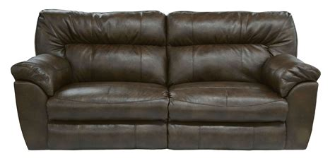 nolan reclining sofa nolan godiva power reclining sofa from catnapper