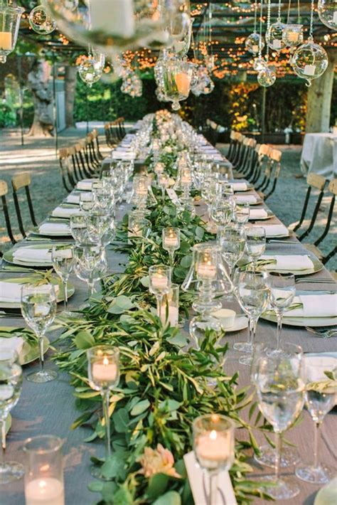 greenery for wedding centerpieces 25 best ideas about greenery centerpiece on